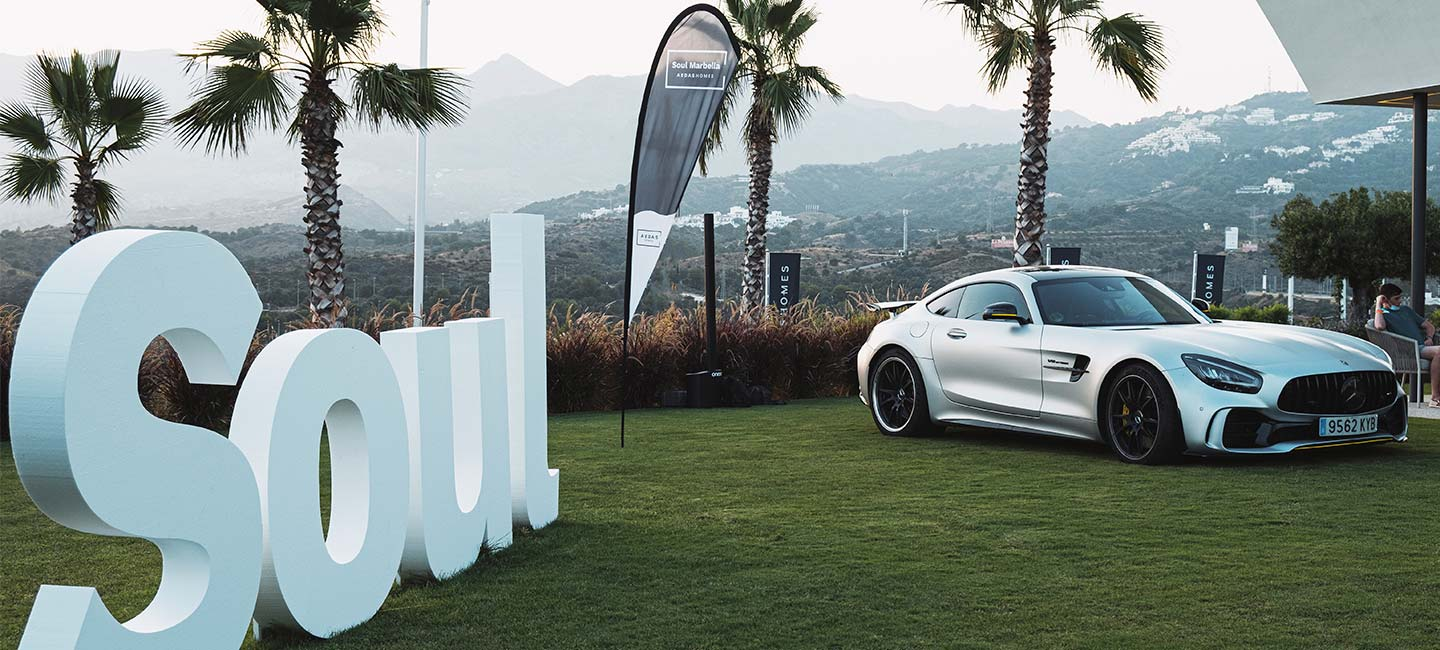 The Soul Marbella development receives the Iberian Tour, an exclusive event for luxury car lovers