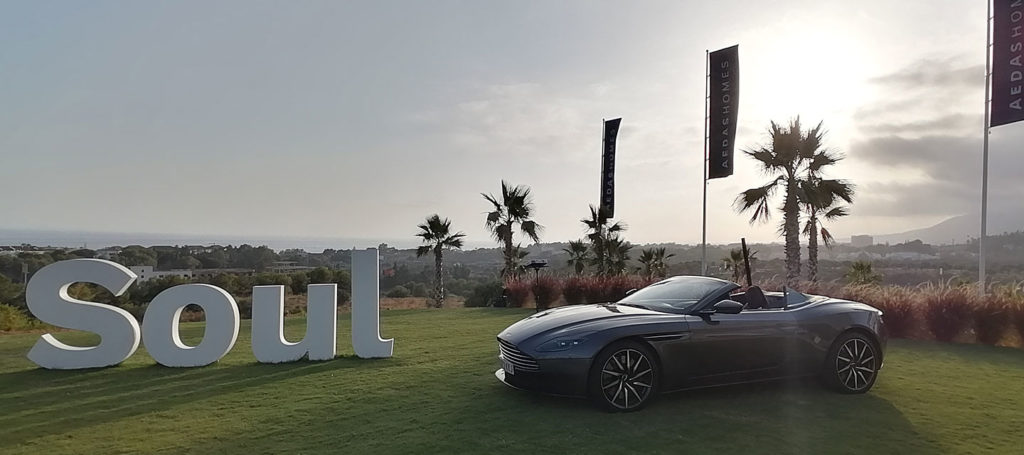 Aston Martin presents new models at Soul Marbella