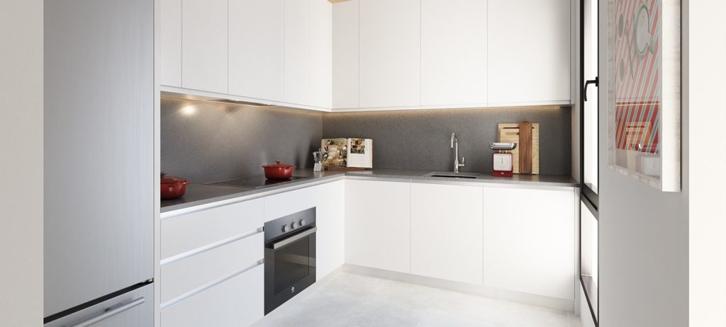 Kitchen - Kane (Malaga) - AEDAS Homes