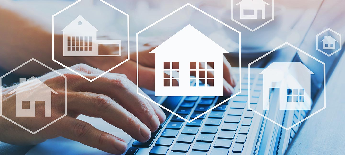 Looking for a new property using technology