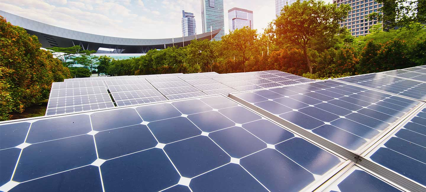In green building, renewable energies play a key role